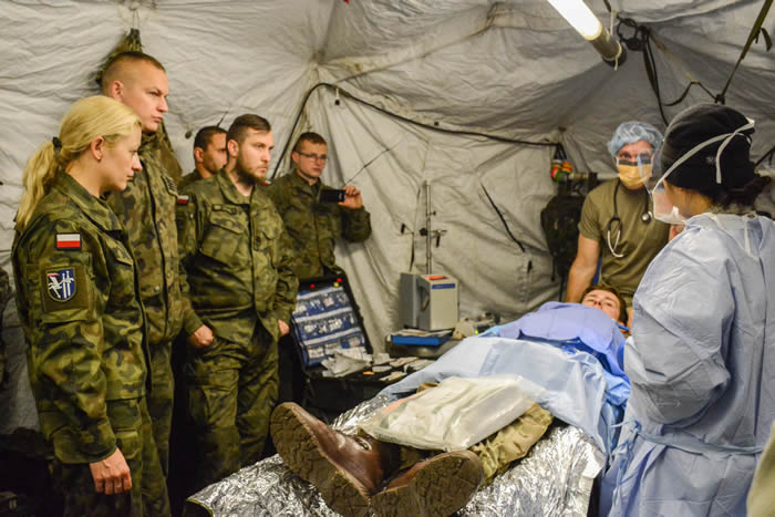 Foreign Military Sales Fortify Medical Readiness of U.S.Allies